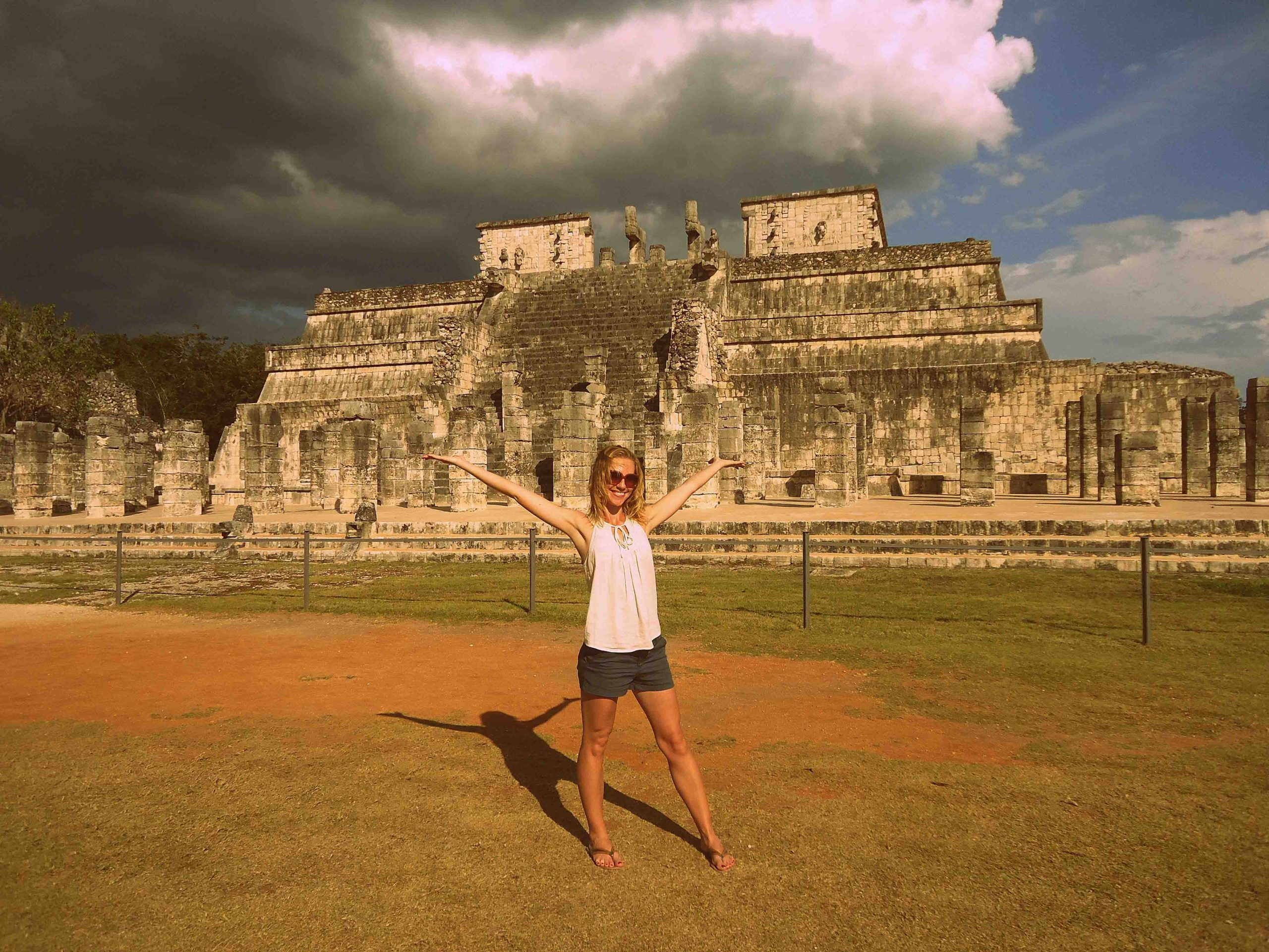 Chichen Itza, best known as it is one of the Seven Wonders of the Modern World
