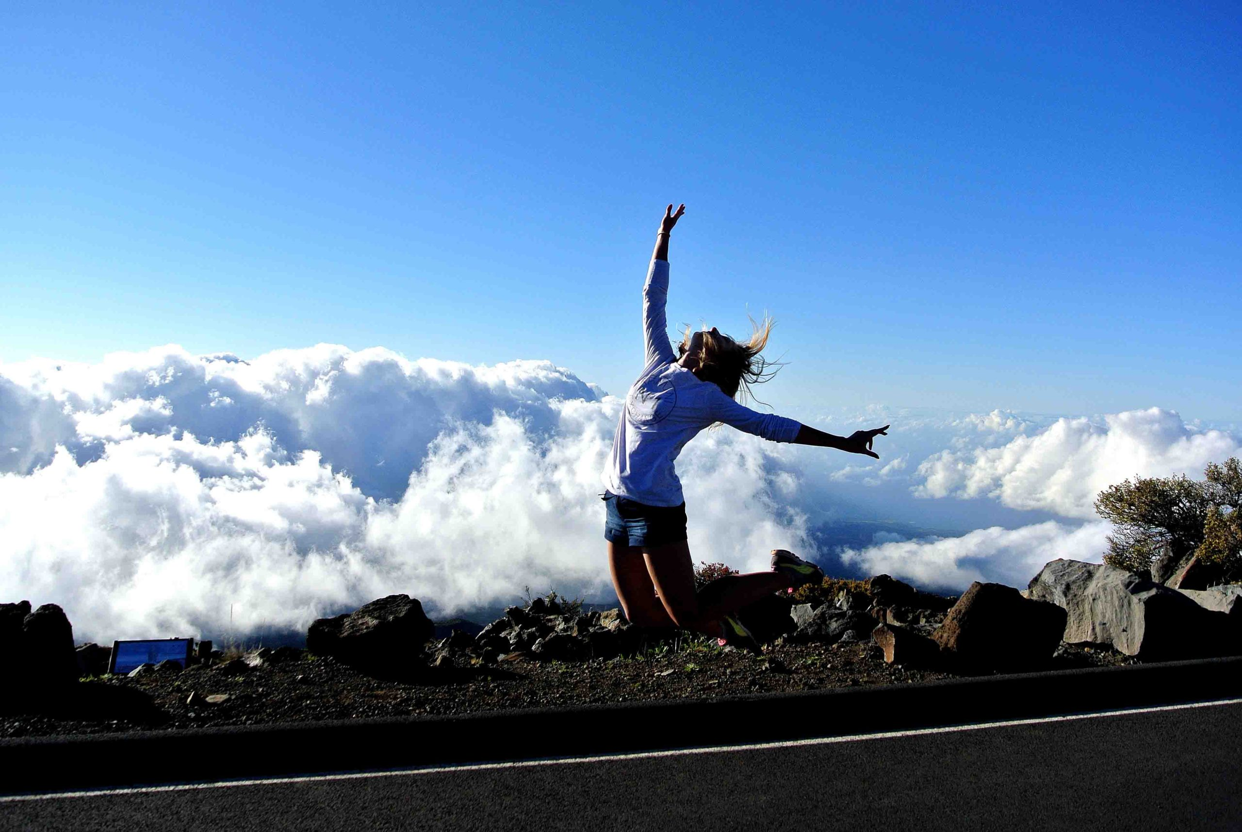 Above the sky! Haleakala Crater