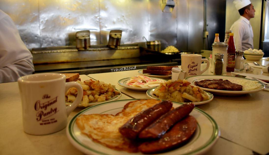 American Retro Cafe In The Heart Of LA